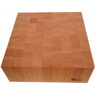Tranchierhackblock aus Rotbuche 400x400x200mm